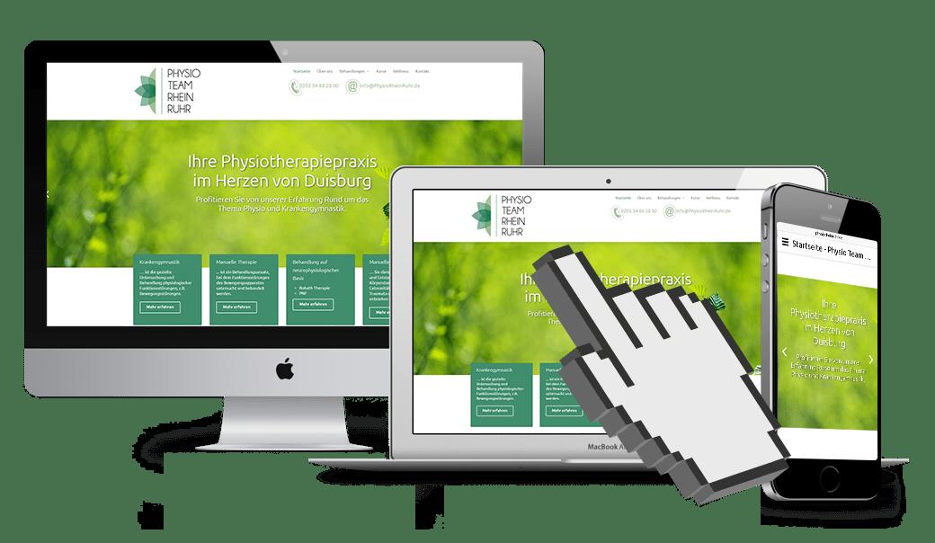 Werbeagentur Oberhausen Webseitenbetreuung