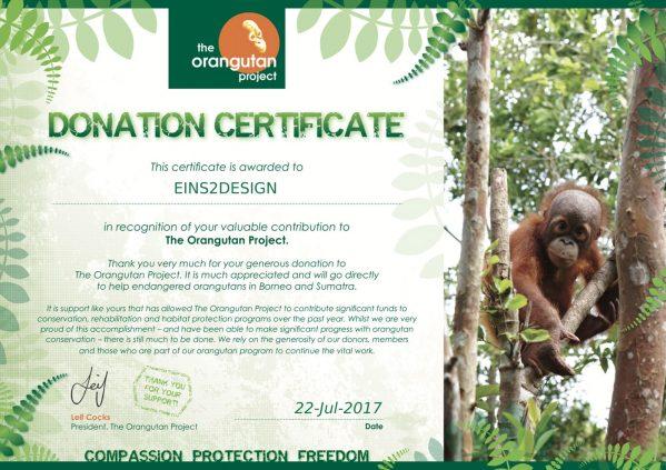 Donation Certificate big