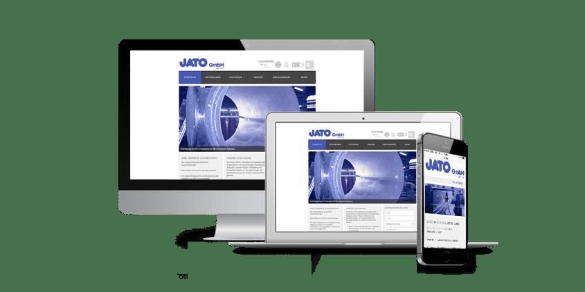 Werbeagentur Muelheim Oberhausen Webdesign Jato