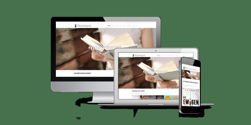 Werbeagentur Muelheim Oberhausen Webdesign Bookspot