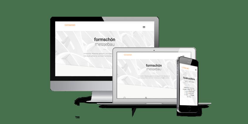 Werbeagentur Muelheim Oberhausen Webdesign Formschön Messebau