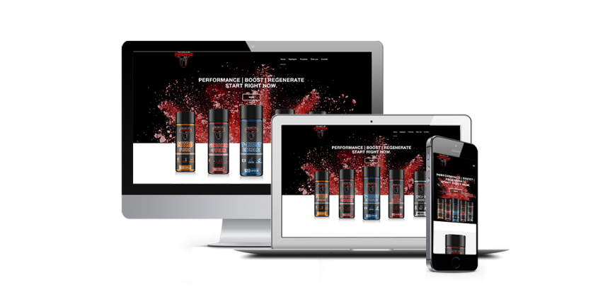 Werbeagentur Muelheim Oberhausen Webdesign Muscle Freakz