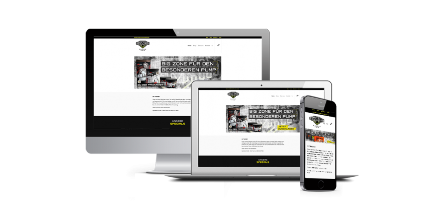 Werbeagentur Muelheim Oberhausen Webdesign MusclePain