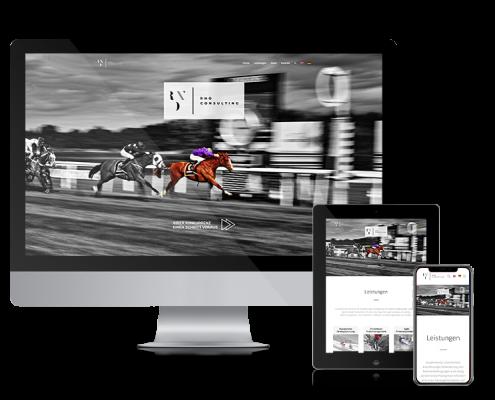 Webdesign für RNO Consulting