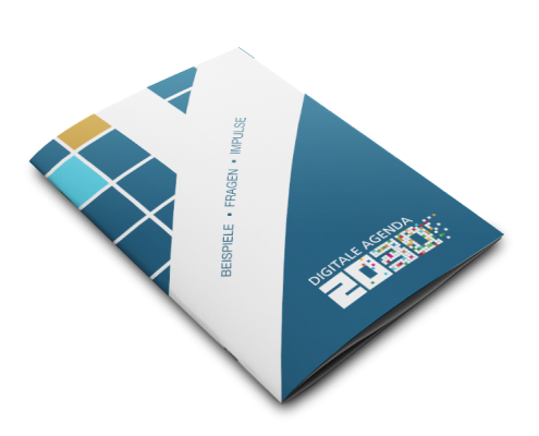 Werbeagentur Muelheim Oberhausen Grafikdesign digitaleagenda2030 broschuere