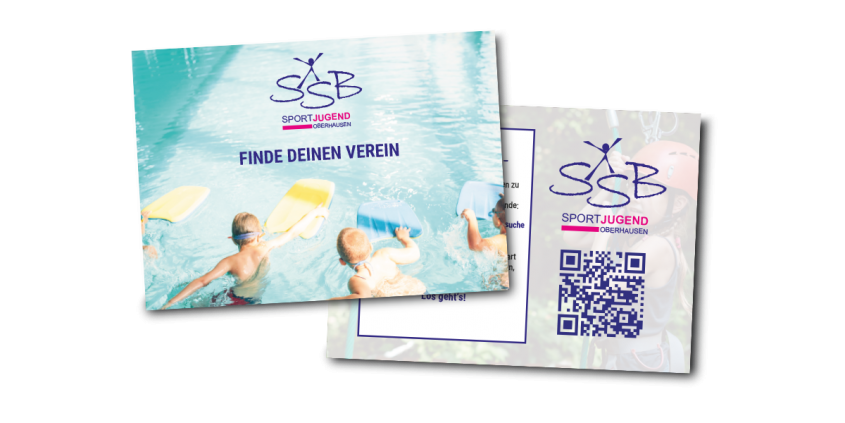 Werbeagentur Muelheim Oberhausen Grafikdesign ssb postkarte