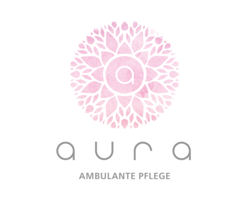 Logo-Design Aura - ambulante Pflege