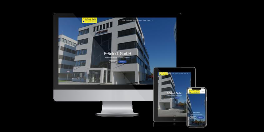 Werbeagentur Muelheim Oberhausen Webdesign Baumpflege fselect