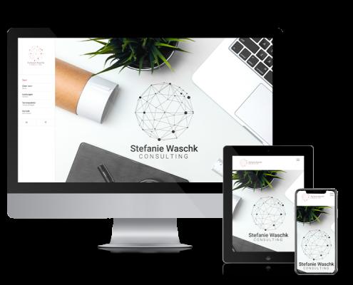 Bild zur Veranschaulichung responsiven Webdesigns Stefanie Waschk