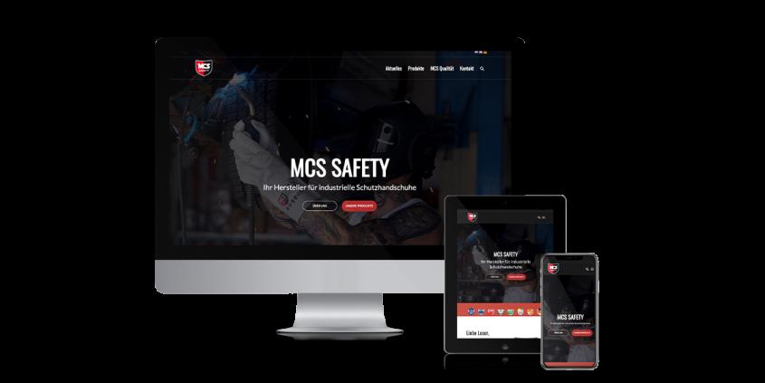 Werbeagentur Muelheim Oberhausen Webdesign MCSSafety