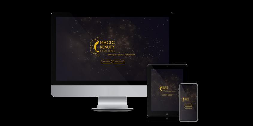 Werbeagentur Muelheim Oberhausen Webdesign magicbeautycoachin wiesbaden