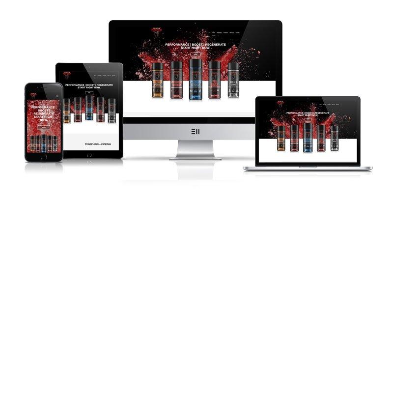 Werbeagentur Muelheim Oberhausen Webdesign musclefreakz mobile