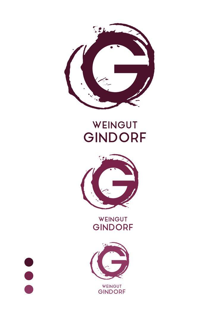 deutscheragenturpreis20 logo weingutgindorf logodesign werbeagentur muelheim