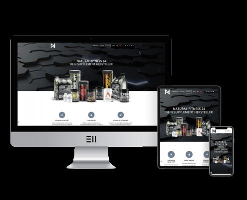 Kreativagentur muelheim oberhausen webdesign natural fitness24